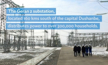 Power Substation Helps Tajikistan Light up Homes in the Country