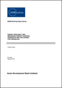 Energy Insecurity and Renewable Energy Sources: Prospects and Challenges for Azerbaijan