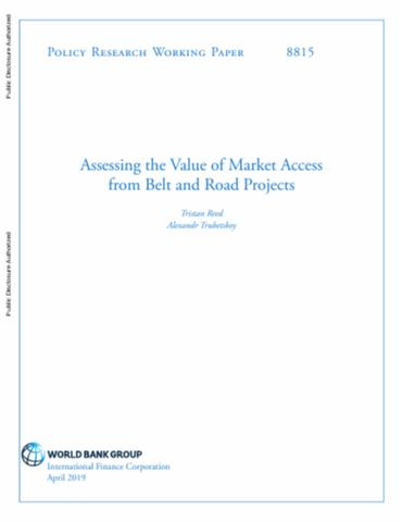 Assessing the Value of Market Access from Belt and Road Projects