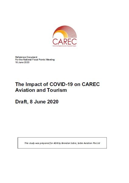 Impact of Covid-19 on CAREC Aviation and Tourism (DRAFT)
