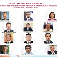 Virtual CAREC Senior Officials' Meeting and Sector Consultations