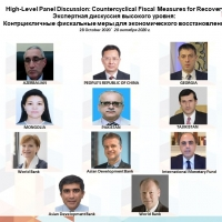CAREC High-Level Virtual Panel on Countercyclical Fiscal Measures for Recovery