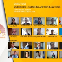 CAREC Webinar on E-Commerce and Paperless Trade